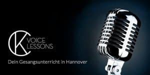 Gesangsunterricht Hannover - CK Voice Lessons - das Mikrofon