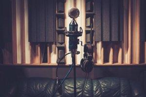 Unser Mikrofon für unsere Studioaufnahmen