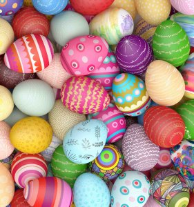 Happy Easter Special 2017 Bunte Ostereier