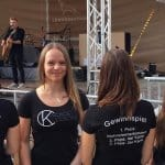 promo girls @maschseefest 2017 - CK Voice Lessons