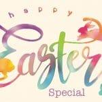 Happy Easter 2018 Logo