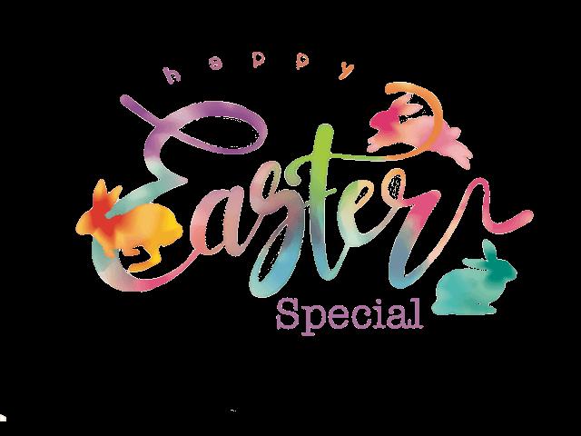 Happy Easter Special-Gutschein 2018 zum Verschenken zu Ostern