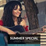 Summer Special - Testpaket für Gesangsunterricht - online und Präsenz2021