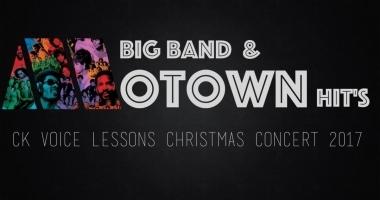 Christmas Concert – CKVL Talents singen mit HMTM – Big Band Songs aus der Motown Era !