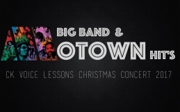 Christmas Concert – CKVL Talents singen mit HMTM – Big Band Songs aus der Motown Era !