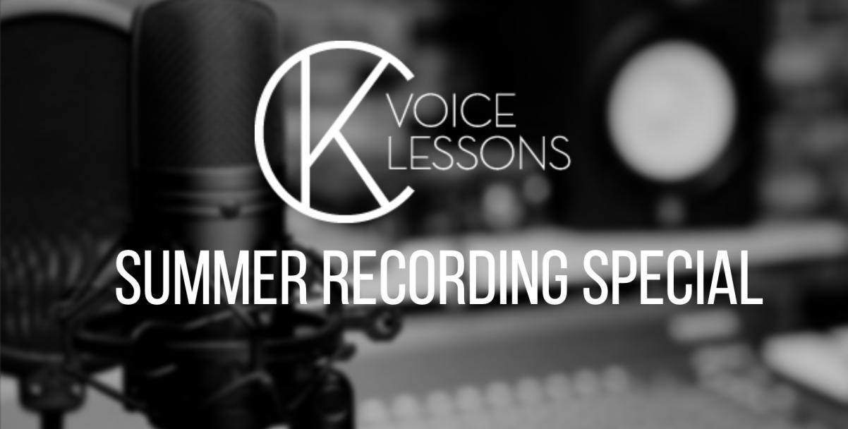 Summer Recording Special