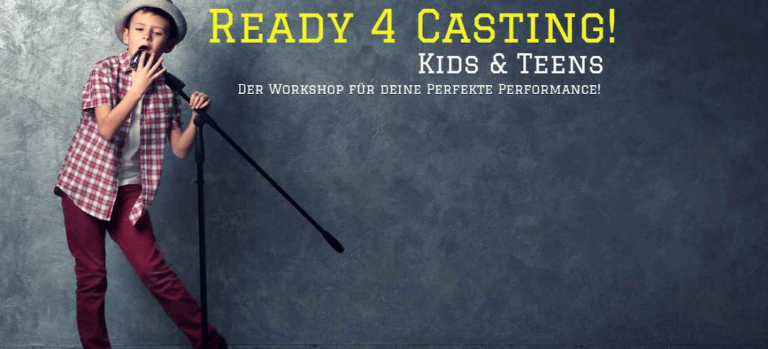 Ready 4 Casting! – Gesangsworkshop für Kinder und Teens am 29.04.2017